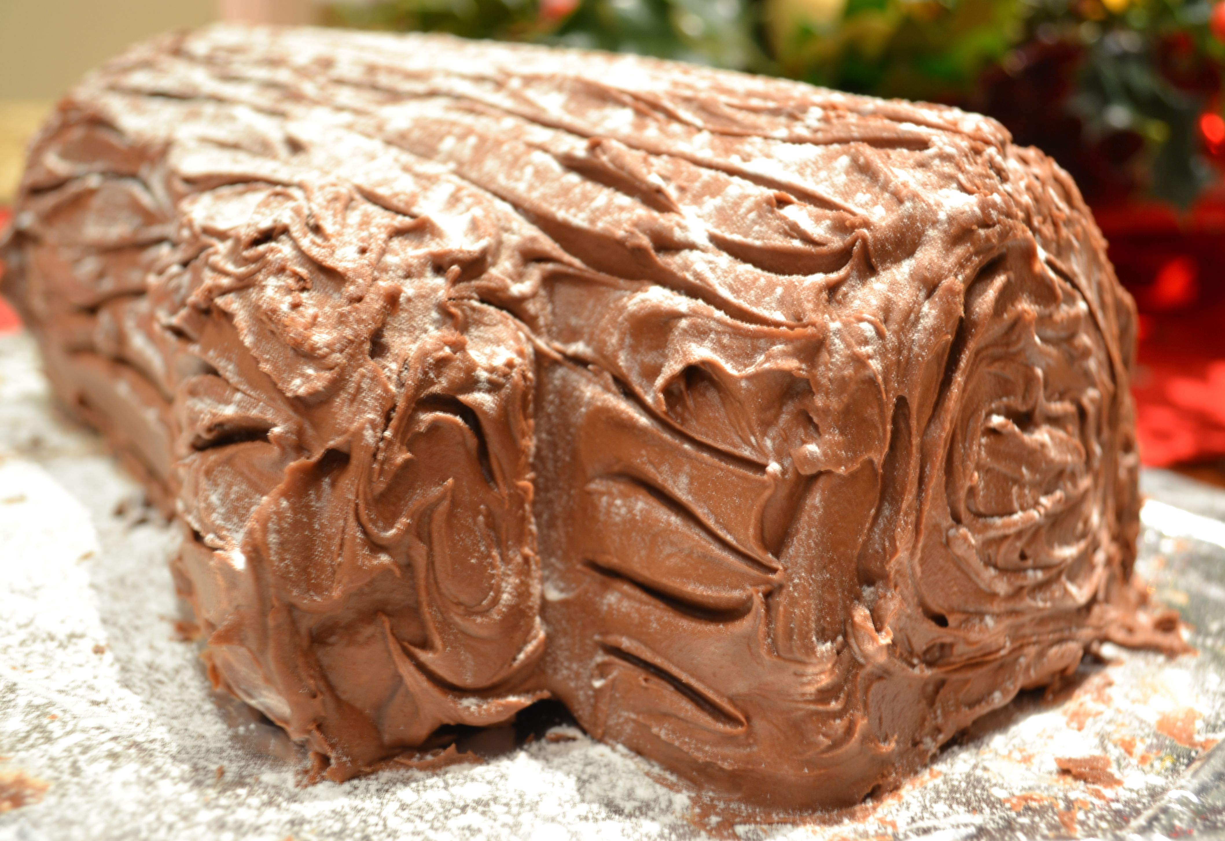 Christmas Yule Log Cake Ideas and Designs